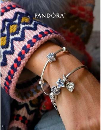 Pandora reclame folder (geldig t/m 11-11)