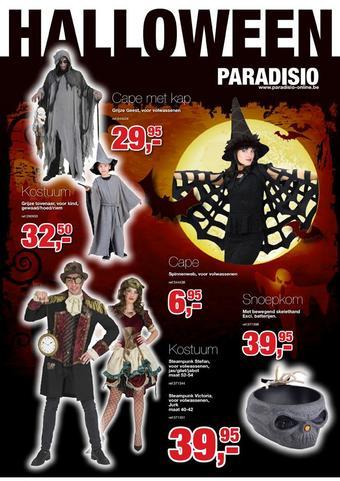 Paradisio reclame folder (geldig t/m 01-11)