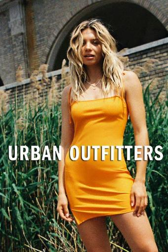 Urban Outfitters reclame folder (geldig t/m 05-08)