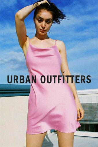 Urban Outfitters reclame folder (geldig t/m 23-09)