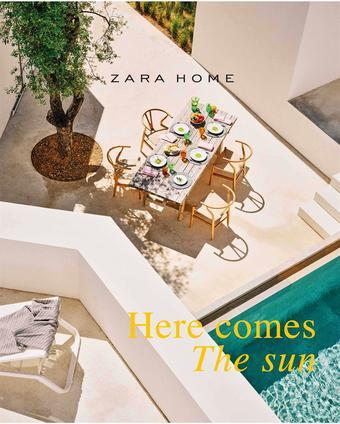 Zara Home reclame folder (geldig t/m 15-07)