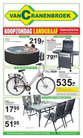 Van Cranenbroek reclame folder (geldig t/m 07-07)