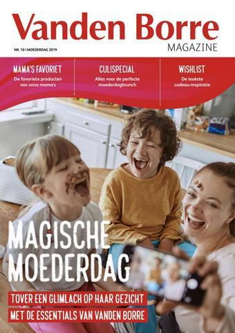 Vanden Borre reclame folder (geldig t/m 31-05)