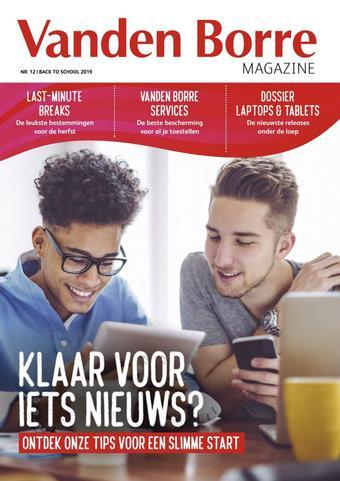 Vanden Borre reclame folder (geldig t/m 03-11)