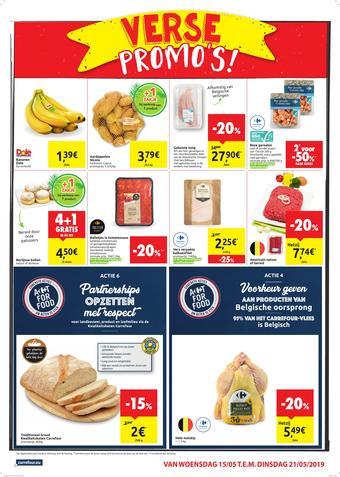 Carrefour Market reclame folder (geldig t/m 21-05)