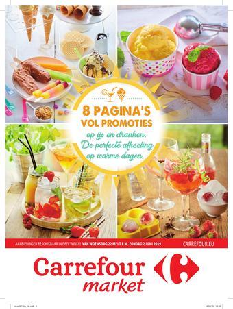 Carrefour Market reclame folder (geldig t/m 02-06)