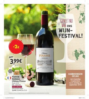 Carrefour Market reclame folder (geldig t/m 22-09)