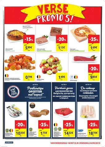 Carrefour Market reclame folder (geldig t/m 24-09)