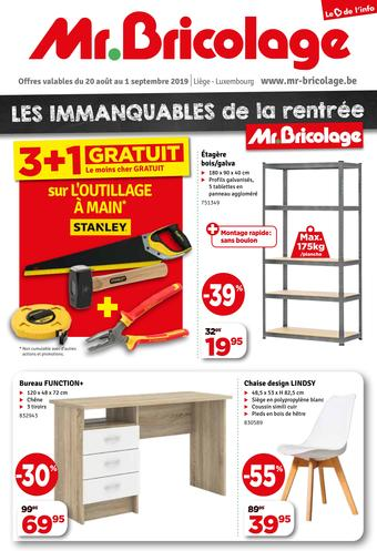 Mr Bricolage reclame folder (geldig t/m 01-09)