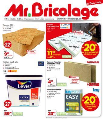 Mr Bricolage reclame folder (geldig t/m 29-09)
