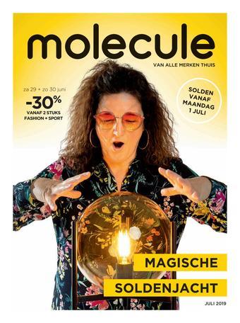 Molecule reclame folder (geldig t/m 31-07)