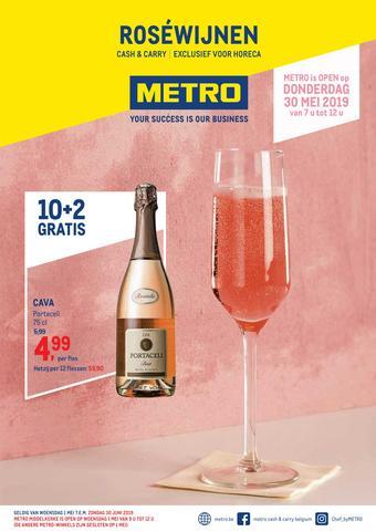 METRO reclame folder (geldig t/m 30-06)