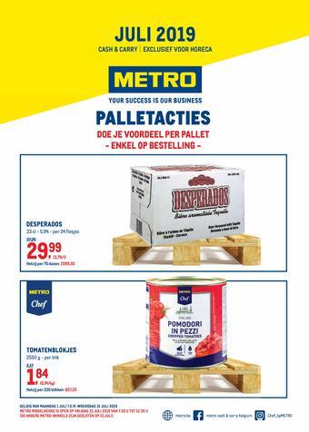 METRO reclame folder (geldig t/m 31-07)