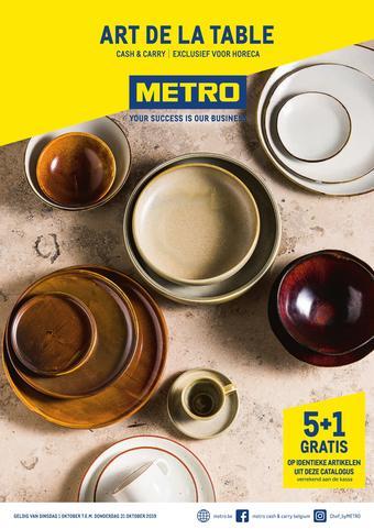 METRO reclame folder (geldig t/m 31-10)