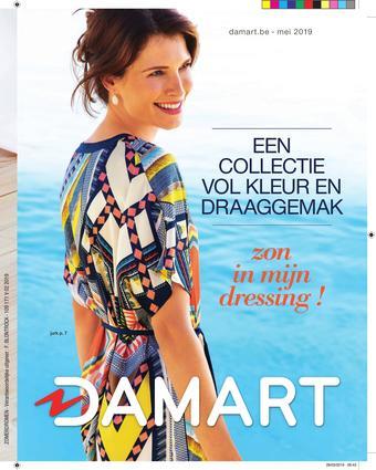 Damart reclame folder (geldig t/m 31-05)