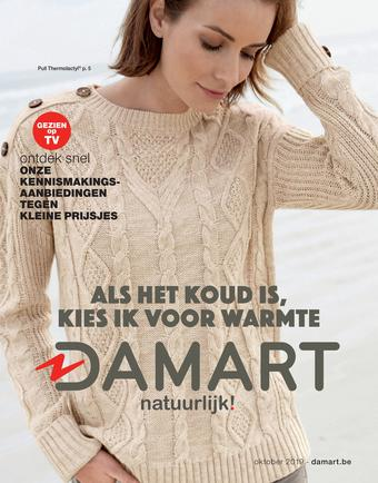 Damart reclame folder (geldig t/m 15-12)
