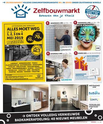 Zelfbouwmarkt reclame folder (geldig t/m 27-05)