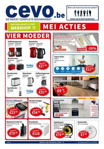 Cevo reclame folder (geldig t/m 22-05)
