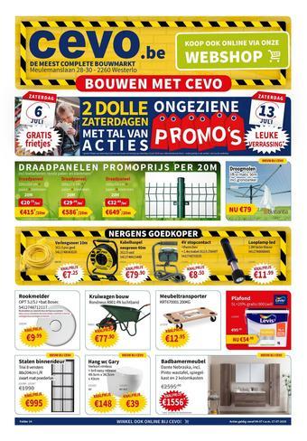 Cevo reclame folder (geldig t/m 17-07)