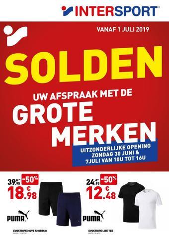 Intersport reclame folder (geldig t/m 28-07)