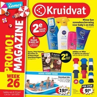 Kruidvat reclame folder (geldig t/m 07-07)