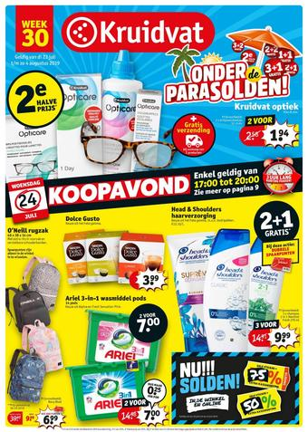 Kruidvat reclame folder (geldig t/m 04-08)