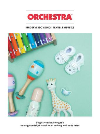 Orchestra reclame folder (geldig t/m 07-04)
