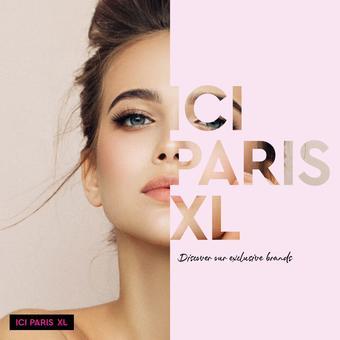 ICI PARIS XL reclame folder (geldig t/m 31-08)