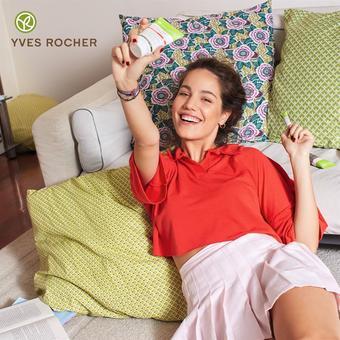 Yves Rocher reclame folder (geldig t/m 12-08)
