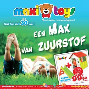 Maxi Toys reclame folder (geldig t/m 26-05)