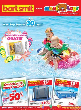 Maxi Toys reclame folder (geldig t/m 21-07)