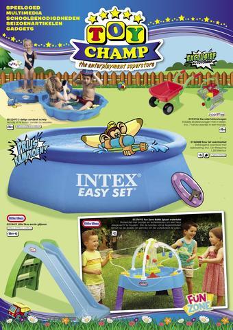 ToyChamp reclame folder (geldig t/m 09-06)