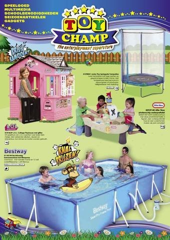ToyChamp reclame folder (geldig t/m 07-07)