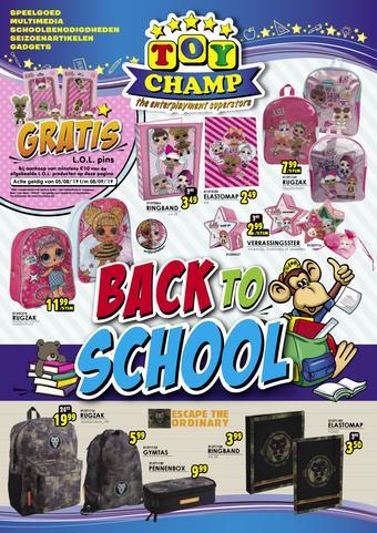 ToyChamp reclame folder (geldig t/m 08-09)