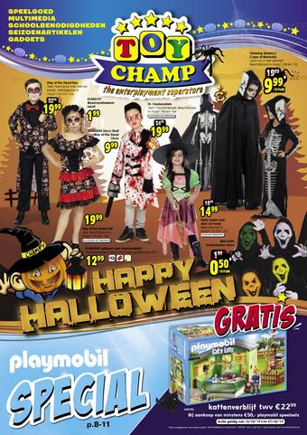 ToyChamp reclame folder (geldig t/m 27-10)