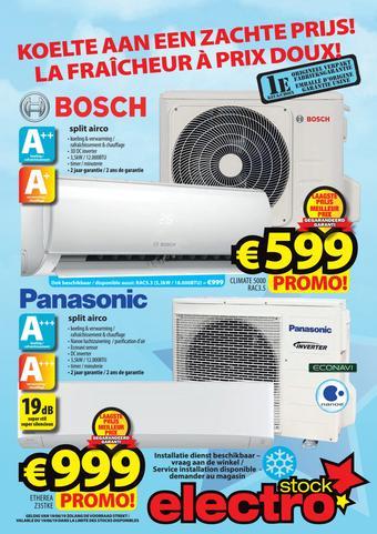 ElectroStock reclame folder (geldig t/m 26-06)