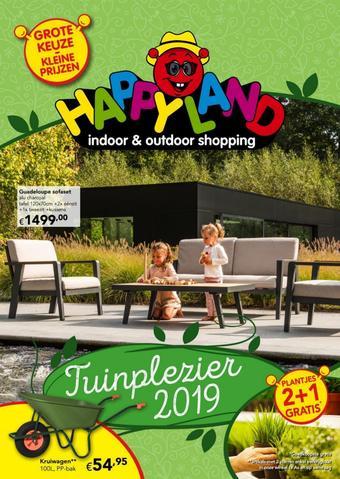 Happyland reclame folder (geldig t/m 25-05)