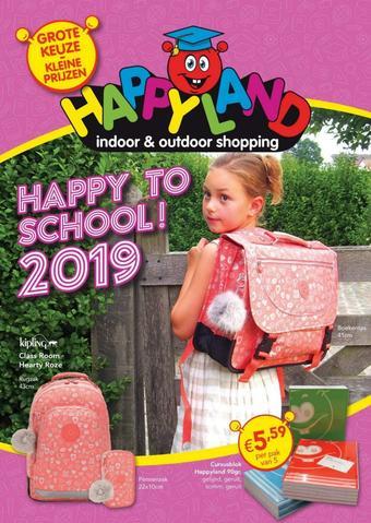 Happyland reclame folder (geldig t/m 14-09)