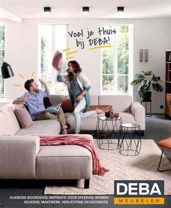 Deba Meubelen reclame folder (geldig t/m 30-09)