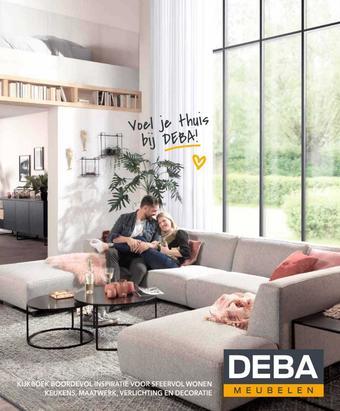 Deba Meubelen reclame folder (geldig t/m 30-04)
