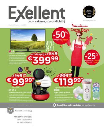 Exellent reclame folder (geldig t/m 31-05)