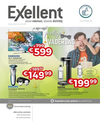 Exellent reclame folder (geldig t/m 30-06)