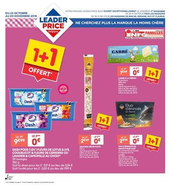 Leader Price reclame folder (geldig t/m 03-11)