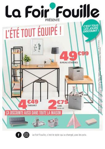 La Foir'Fouille reclame folder (geldig t/m 28-07)