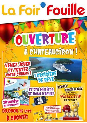 La Foir'Fouille reclame folder (geldig t/m 08-09)