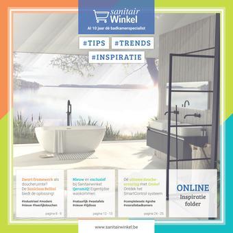 Sanitairwinkel reclame folder (geldig t/m 31-08)