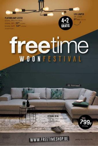 Freetime reclame folder (geldig t/m 03-11)