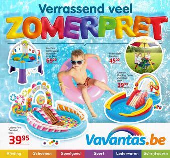 Vavantas reclame folder (geldig t/m 25-08)