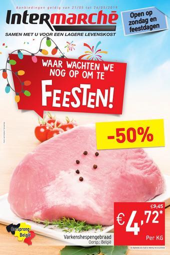 Intermarché reclame folder (geldig t/m 26-05)
