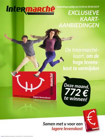 Intermarché reclame folder (geldig t/m 30-06)
